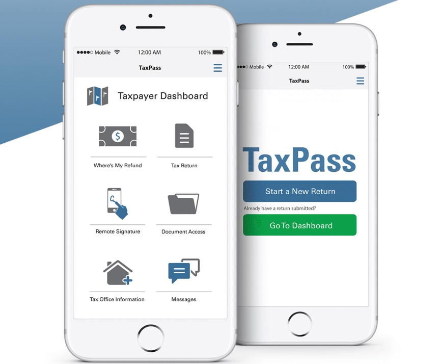 Linyx TaxPass App Flyer